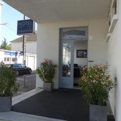 Entrée principale de l'hôtel