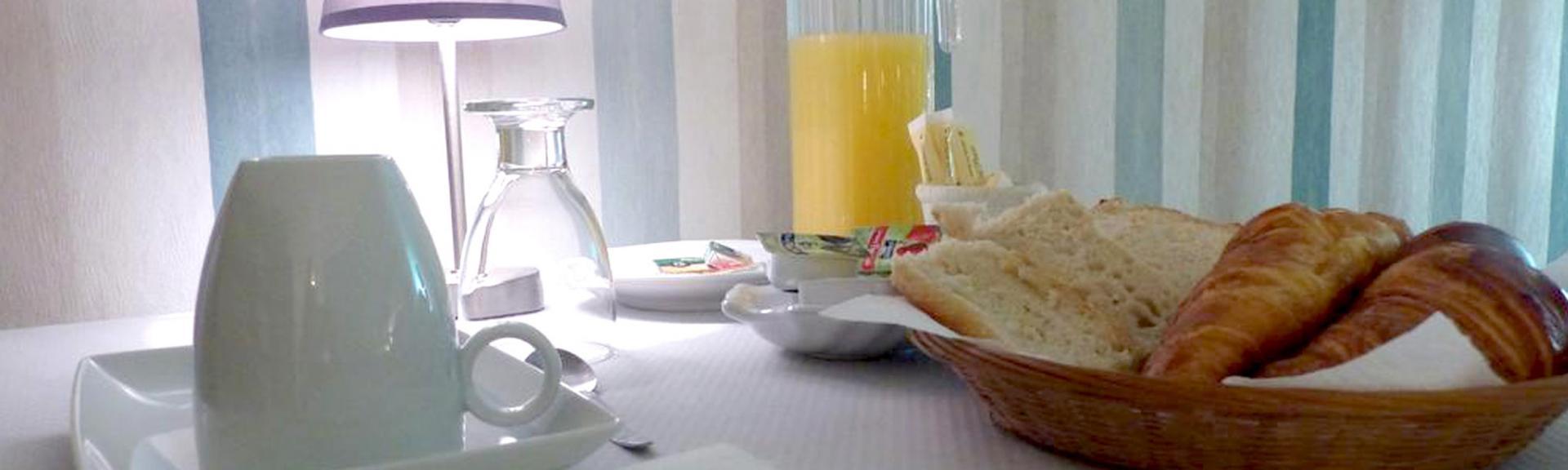 Profitez du petit-déjeuner